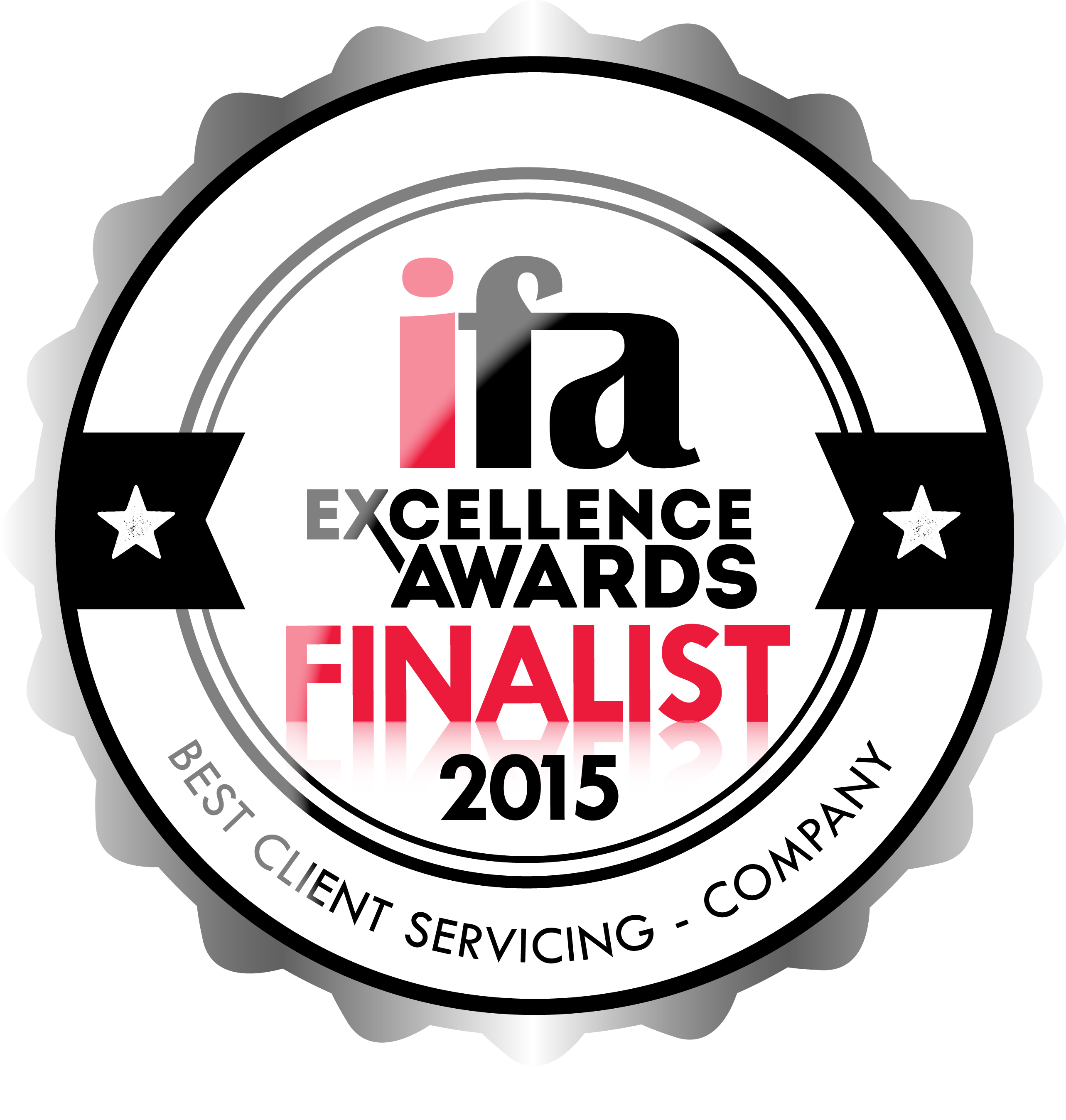 FINALIST_BEST_CLIENT_SERVICING_COMPANY (3) IFA Excellence Awards 2015 IFA Excellence Awards 2015 FINALIST BEST CLIENT SERVICING COMPANY 3